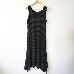 Cut Loose Stripe Swing Tank Dress